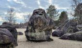Randonnée Marche NOISY-SUR-ECOLE - Boucle les trois pignons Fontainebleau - Photo 7