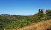 Randonnée V.T.T. JOANNAS - Camping le Roubreau, tour de Brison, Montréal, Taurier, Joannas  - Photo 8
