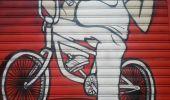 Randonnée Marche GRENOBLE - street art Championnet - Photo 7
