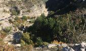 Trail Walk CHATEAUNEUF-DE-CHABRE - Gorges de la Méouge retour par côte chaude - Photo 1