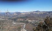 Randonnée Marche CHATEAUNEUF-DE-CHABRE - CHATEAU NEUF DE CHABRE 05 . Piloubeau , les cretes de Chabre o s - Photo 3