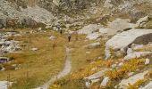 Trail Walk SAINT-MARTIN-VESUBIE - Saleze - lac Negre -pas de Prefounds - nuit refuge Questa - Photo 7