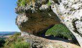 Randonnée Marche LA CANOURGUE - Au-dessus de La Canourgue - Photo 3