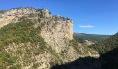 Trail Walk CHATEAUNEUF-DE-CHABRE - Gorges de la Méouge retour par côte chaude - Photo 5