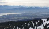 Randonnée Raquettes à neige DIVONNE-LES-BAINS - La Dole alt 1676m en raquette - Photo 7