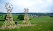 Trail Walk Somme-Leuze - Sentiers d'Art - Boucle de 16 km - Heure-Sinsin-Nettinne - Photo 1