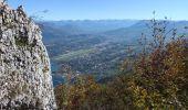 Randonnée Marche LE BOURGET-DU-LAC - dent du chat et mollard noir  - Photo 3