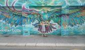 Trail Walk GRENOBLE - street art Championnet - Photo 16