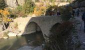 Trail Walk CHATEAUNEUF-DE-CHABRE - Gorges de la Méouge retour par côte chaude - Photo 7