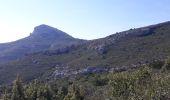 Randonnée Marche ROQUEVAIRE - Garlaban au départ de Lascours  - Photo 9