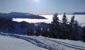 Trail Nordic skiing ALLEVARD - tricotage crête des Plagnes - Photo 5
