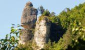 Randonnée Marche LA CANOURGUE - Au-dessus de La Canourgue - Photo 4