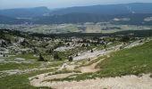 Randonnée Marche LANS-EN-VERCORS - Pic Saint-Michel et col d'Arc Vercors - Photo 9