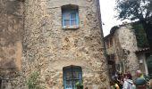 Randonnée Marche TOURTOUR - TOURTOUR (83)  - le Rocher des Infirmières  -  la Tour Grimaldi - Photo 2