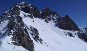 Trail Nordic skiing VALLOIRE - Roche Olvera, pointe de la Mandette et col du Galibier - Photo 4