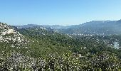 Randonnée Marche ROQUEVAIRE - Garlaban au départ de Lascours  - Photo 7
