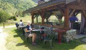 Randonnée Voiture LES CONTAMINES-MONTJOIE - chalets du Miage - Photo 4