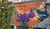 Trail Walk GRENOBLE - street art villeneuve - Photo 2