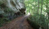Randonnée Marche GLANDAGE - gorges du gats - Photo 2