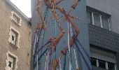 Trail Walk GRENOBLE - street art Championnet - Photo 12