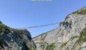 Randonnée Marche MAYRES-SAVEL - Passerelles  Du Drac Et de L'Ebron - Photo 4