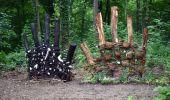 Randonnée Vélo électrique Gesves - Boucle vélo (de ville ou éléctrique) Sentiers d'Art sur Haltinne - Ohey - Photo 3