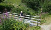 Randonnée Voiture LES CONTAMINES-MONTJOIE - chalets du Miage - Photo 8