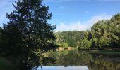 Randonnée Trail NEANT-SUR-YVEL - Autour des étangs à partir du gîte de tante Phonsine - Photo 2