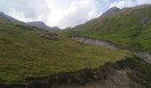 Randonnée Marche SEEZ - hospice petit saint Bernard . lac dans fond . la parciere . hospice - Photo 5