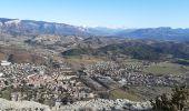 Randonnée Marche CHATEAUNEUF-DE-CHABRE - CHATEAU NEUF DE CHABRE 05 . Piloubeau , les cretes de Chabre o s - Photo 1