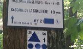 Trail Walk Aywaille - REMOUCHAMPS ... La vallée du Ninglinspo et la charmille. - Photo 6