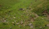 Randonnée Marche BAGNERES-DE-BIGORRE - Lacs Hourrec Bleu et vert via le col de Bareilles - Photo 25