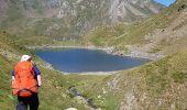 Randonnée Marche BAGNERES-DE-BIGORRE - Lacs Hourrec Bleu et vert via le col de Bareilles - Photo 22