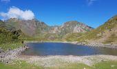 Randonnée Marche BAGNERES-DE-BIGORRE - Lacs Hourrec Bleu et vert via le col de Bareilles - Photo 21