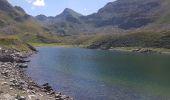 Randonnée Marche BAGNERES-DE-BIGORRE - Lacs Hourrec Bleu et vert via le col de Bareilles - Photo 20