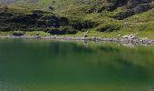 Randonnée Marche BAGNERES-DE-BIGORRE - Lacs Hourrec Bleu et vert via le col de Bareilles - Photo 19