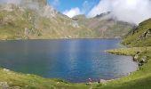Randonnée Marche BAGNERES-DE-BIGORRE - Lacs Hourrec Bleu et vert via le col de Bareilles - Photo 16