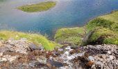 Randonnée Marche BAGNERES-DE-BIGORRE - Lacs Hourrec Bleu et vert via le col de Bareilles - Photo 14