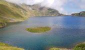 Randonnée Marche BAGNERES-DE-BIGORRE - Lacs Hourrec Bleu et vert via le col de Bareilles - Photo 13