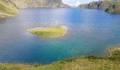 Randonnée Marche BAGNERES-DE-BIGORRE - Lacs Hourrec Bleu et vert via le col de Bareilles - Photo 12