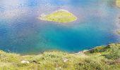 Randonnée Marche BAGNERES-DE-BIGORRE - Lacs Hourrec Bleu et vert via le col de Bareilles - Photo 10