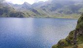 Randonnée Marche BAGNERES-DE-BIGORRE - Lacs Hourrec Bleu et vert via le col de Bareilles - Photo 8