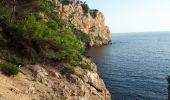 Randonnée Marche SAINT-CYR-SUR-MER - calanque du cap d'Alon - sentier des vignes - sentier côtier - Photo 8
