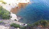Randonnée Marche SAINT-CYR-SUR-MER - calanque du cap d'Alon - sentier des vignes - sentier côtier - Photo 7