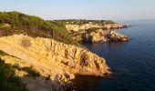 Randonnée Marche SAINT-CYR-SUR-MER - calanque du cap d'Alon - sentier des vignes - sentier côtier - Photo 6