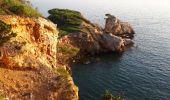 Randonnée Marche SAINT-CYR-SUR-MER - calanque du cap d'Alon - sentier des vignes - sentier côtier - Photo 5