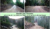 Randonnée Marche LES NOES - Nouvelle Piste Forestière entre le Rocher de Rochefort et le Plan du Grand Jonc - Photo 4