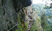 Randonnée Marche STOSSWIHR - Le cirque glaciaire du Frankenthal - Sentier des Roches -Gps - Photo 6