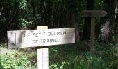 Randonnée Marche LAILLY - Forêt de de Lancy/Vauluisant (Polissoirs + Dolmens) - Photo 6