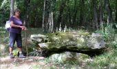Randonnée Marche LAILLY - Forêt de de Lancy/Vauluisant (Polissoirs + Dolmens) - Photo 11